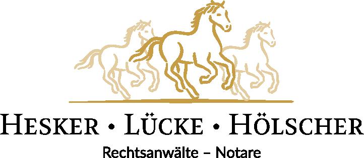 Logo Hesker • Lücke • Hölscher | Rechtsanwälte - Notare